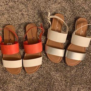 Montego Bay Club Double Strap Sandals Bundle